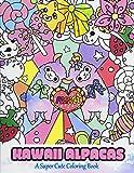 Kawaii Alpacas: A Super Cute Coloring Book: Volume 4 (Kawaii, Manga and Anime Coloring Books for Adults, Teens and Tweens)