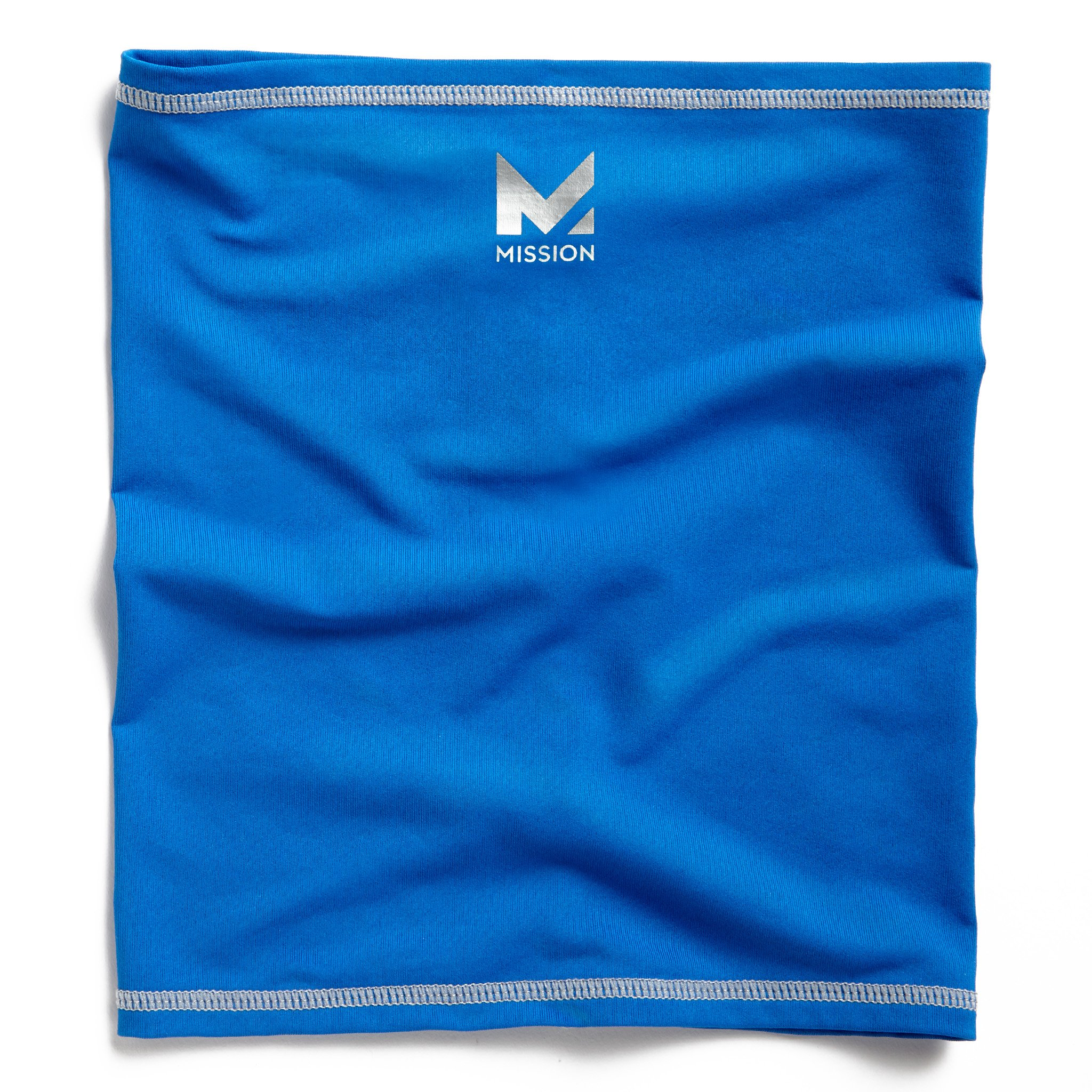 Mission HydroActive Fitness Multi-Cool Neck Gaiter and Headband, Cobalt Blue, One Size