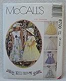 8700 McCalls Sewing Pattern Uncut Girls Dress Beret Size 4 5 6