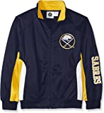 NHL 加大加长版运动夹克,带商标标志