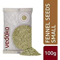 Amazon Brand - Vedaka Fennel Seeds - Small (Saunf), 100g