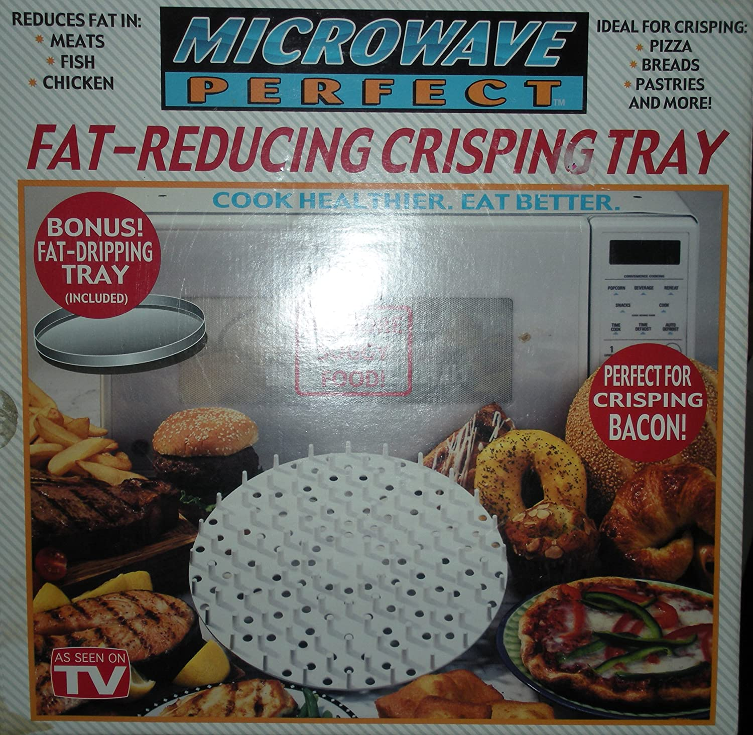 Microwave Perfect FAT-REDUCING CRISPING TRAY