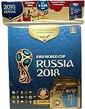 """Panini 709951 Fifa World Cup Russia 2018"""" Sammelsticker Starterset, Hardcoveralbum und 3 Booster"""
