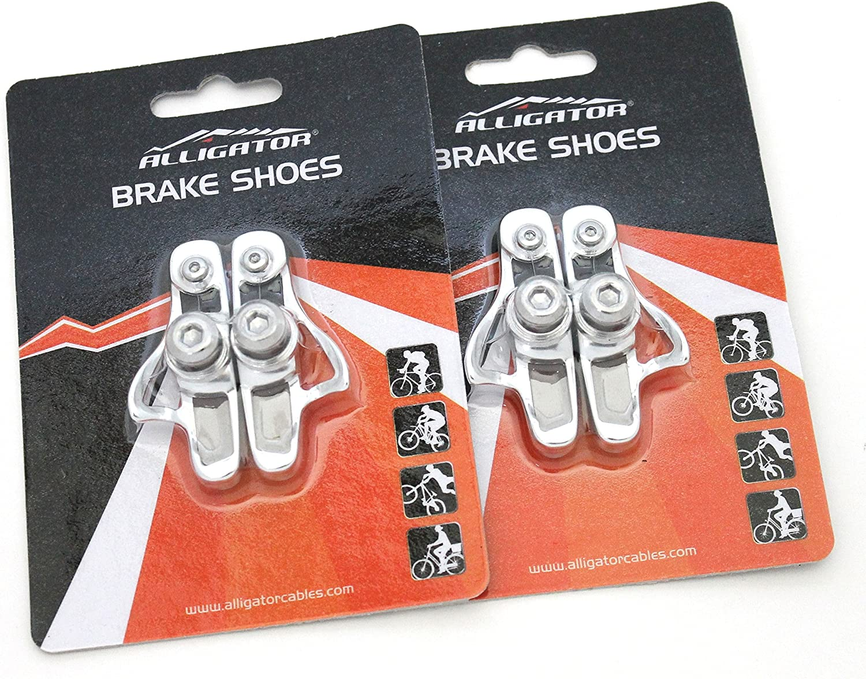 2 Pair Shimano Genuine Quality BLACK Wet//Dry Dura Ace Ultegra 105 Brake Pads