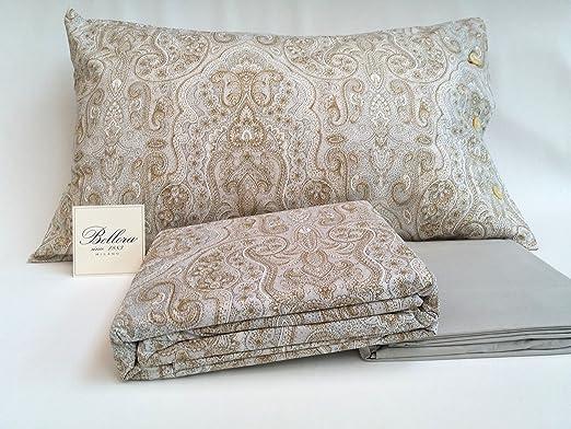 Bellora - Juego de sábanas para cama de matrimonio de percal de ...