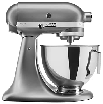 Amazing Kitchenaid Uk 5Ksm95Psbcu Stand Mixer With Pouring Shield Silver Interior Design Ideas Lukepblogthenellocom