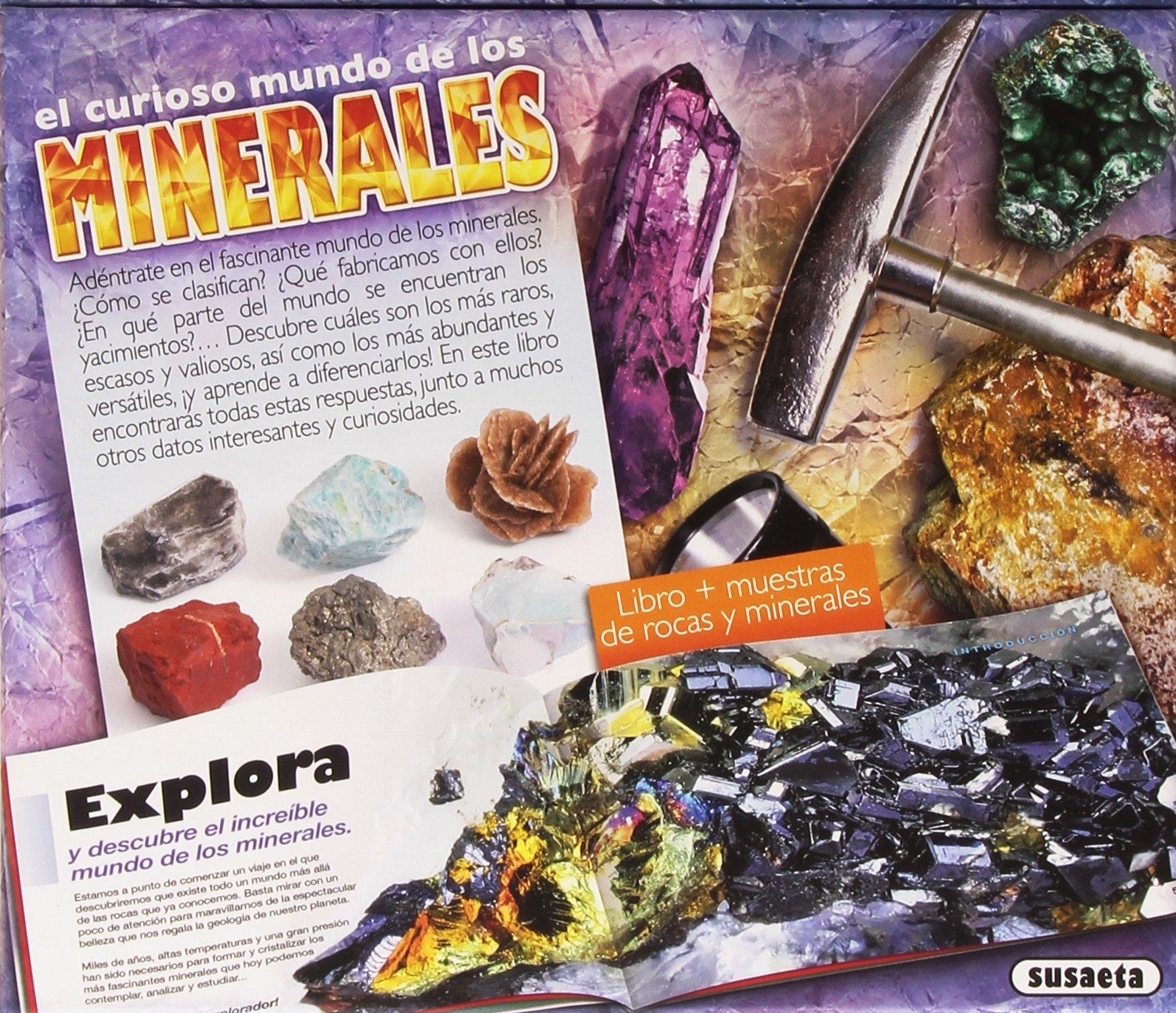 El curioso mundo de los minerales (Joven explorador): Amazon.es: Uriel, Roberto, Cuenca, Rocío, Uriel, Roberto, Cuenca, Rocío: Libros