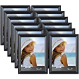 Icona Bay 5 by 7 Inch Picture Frames, 12 Pack