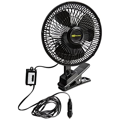 Hopkins SP570804 Go Gear 12 Volt Oscillating Fan: Automotive