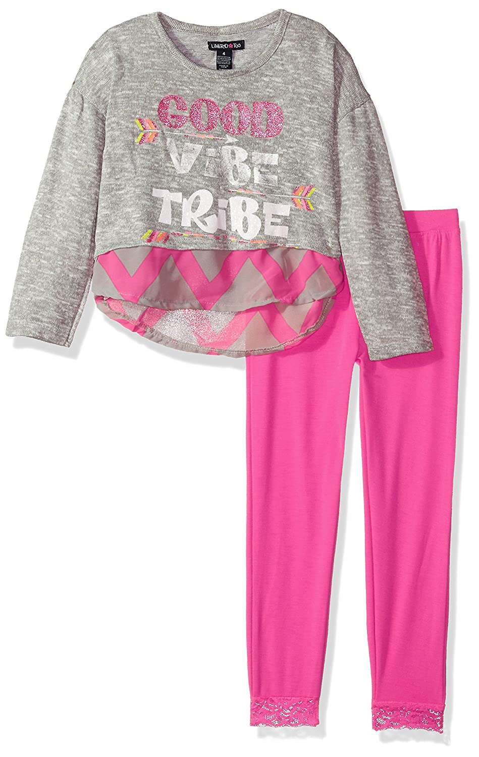 More Styles Available Limited Too Girls Knit Top and Legging Set