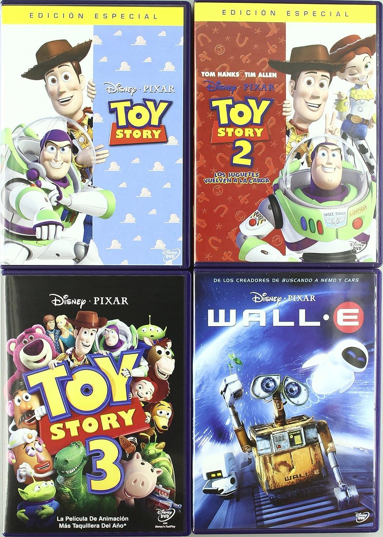 Amazon.com: Pack: Colección Pixar (Incluye 12 Películas) [Import espagnol]: Movies & TV