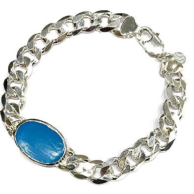silverwala gents bracelet of 92 5 silver for men amazon in jewellery