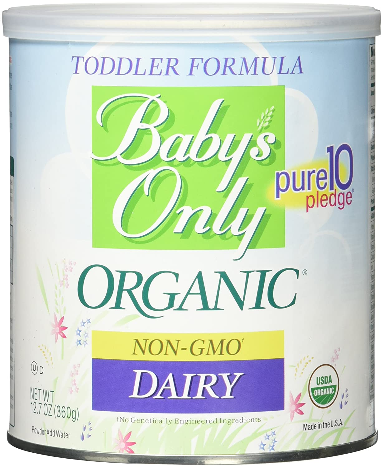 Baby's Only Organic Dairy Infant Formula