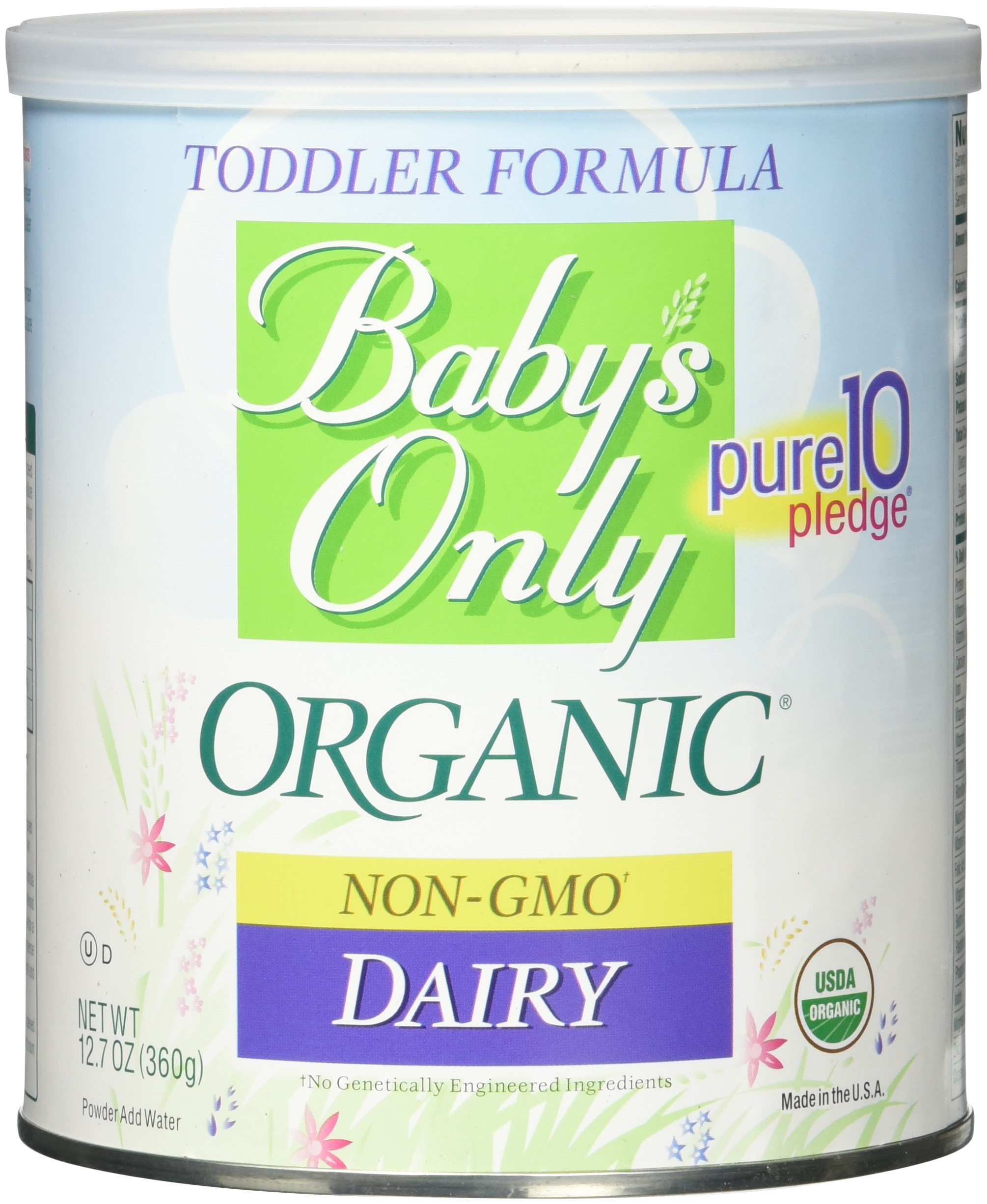 Babys Only Organic Toddler Formula Dairy Iron Fortified