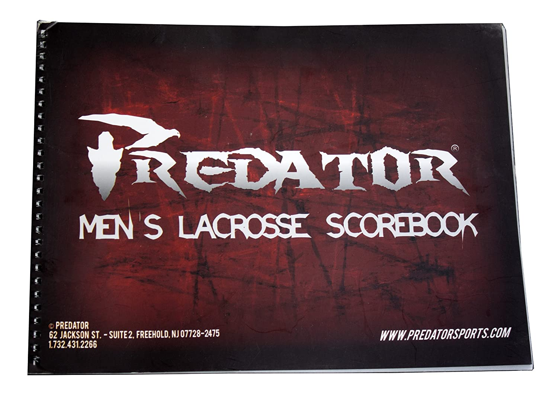 Predator ®公式ラクロスScorebook B00JMF37U4  Mens