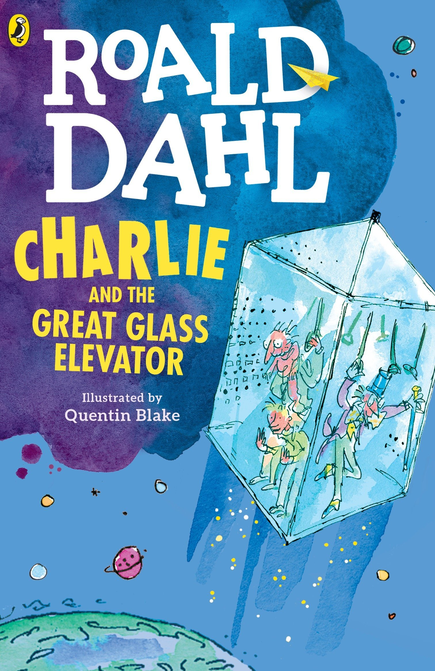 Charlie and the Great Glass Elevator: Dahl, Roald, Blake, Quentin:  9780142410325: Amazon.com: Books