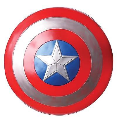 "Rubie's Marvel Captain America 12"" Plastic Shield: Toys & Games"
