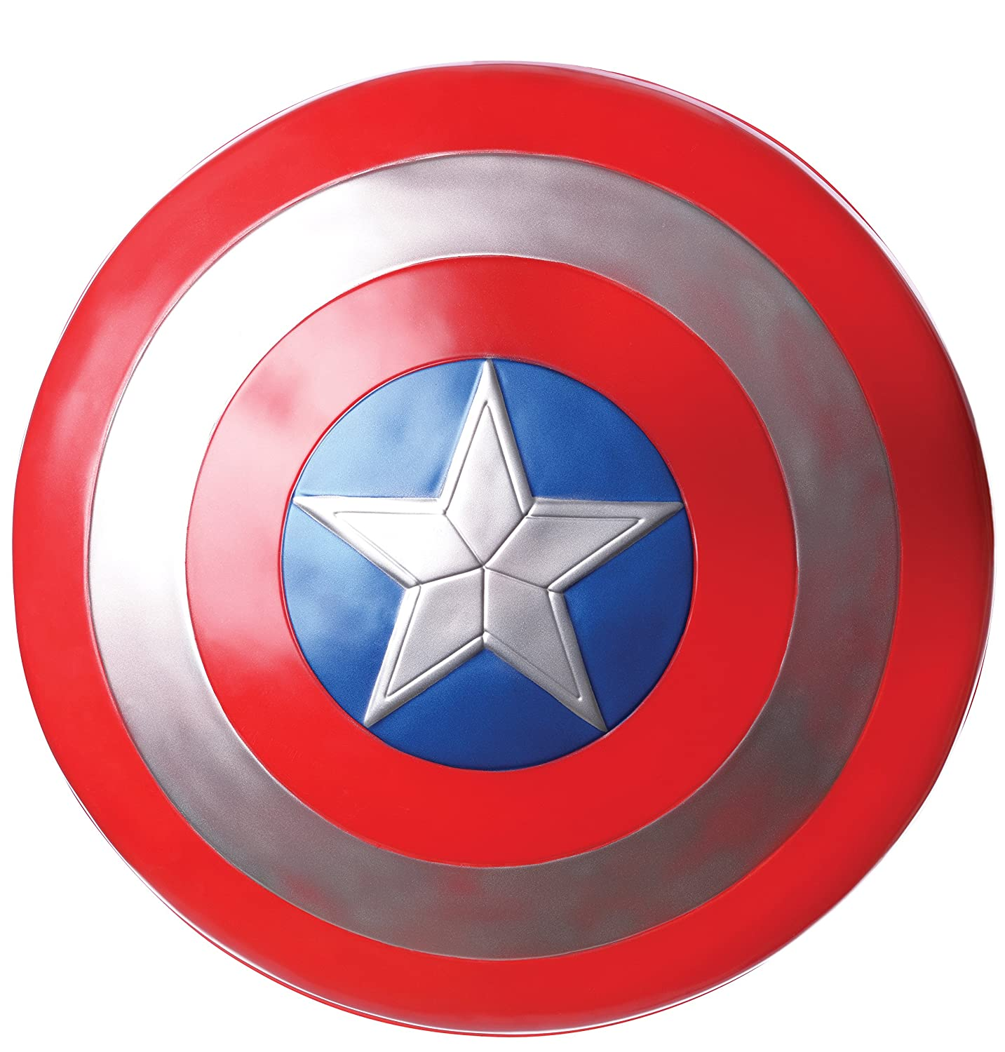 CA3 Captain America Shield 12I 12 Rubies - Domestic 32676