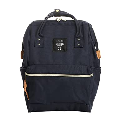 1113dc0216ea Image Unavailable. Image not available for. Color  Anello AT-B0193A LARGE  Laptop Tablet Backpack Rucksack NAVY