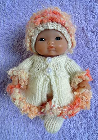 Hand Knitted Dolls Clothes For 5 Berenguer Doll 304 Amazon