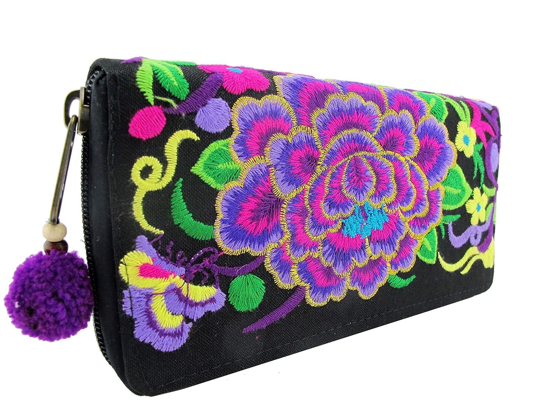 Embroidered Hippie Boho...