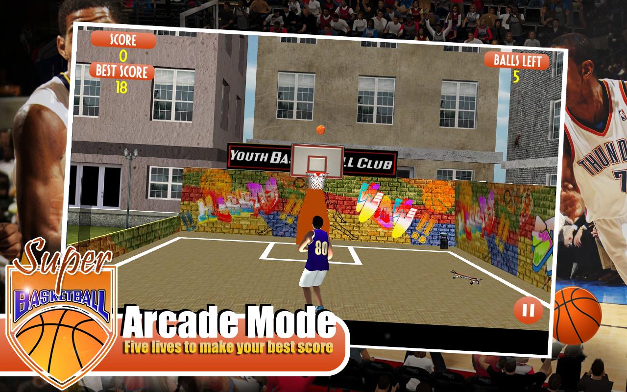 3D Super Basketball