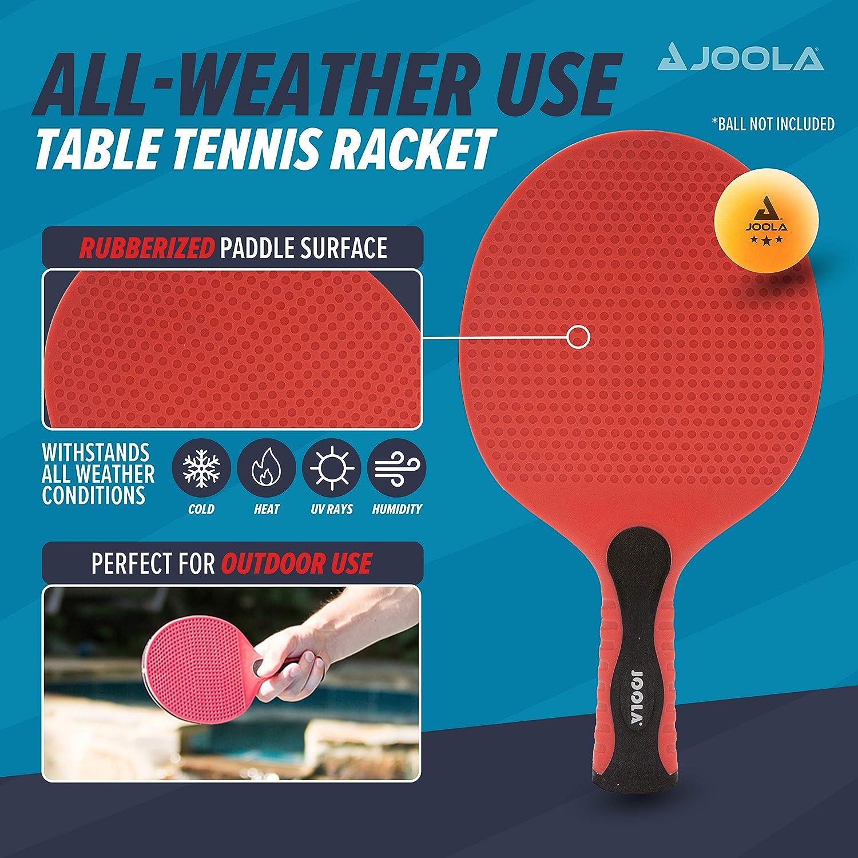 JOOLA Malet/ín para Palas de Ping Pong y Pelotas Aluminio