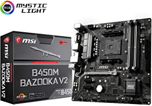 Amazon com: GIGABYTE B450 AORUS M (AMD Ryzen AM4/M 2 Thermal Guard
