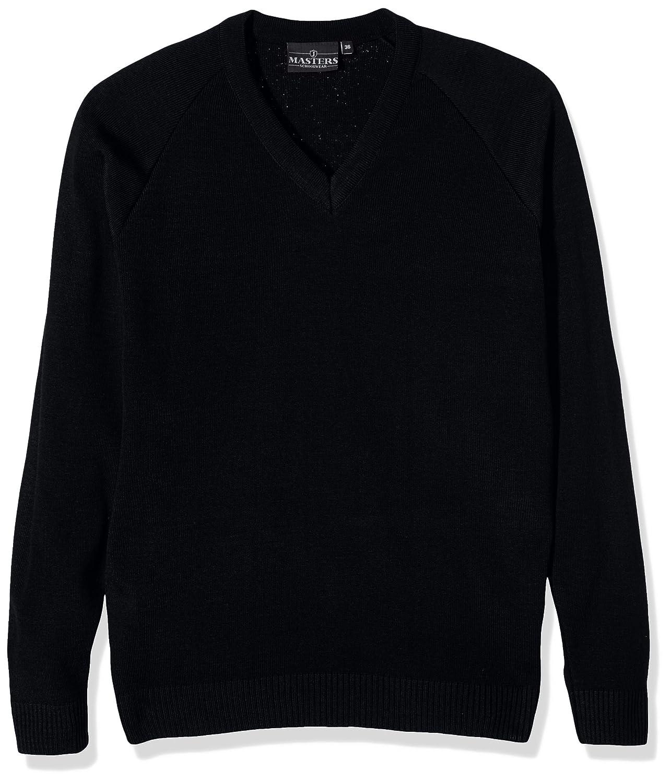 J Masters Schoolwear Boy's Unisex V Neck Knitted School Jumper 333