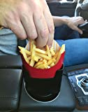 """MAAD """"Fries on the Fly"""" Multi-Purpose Universal Car French Fry Holder - Hilarious Valentine's Gift for French Fry Lover"""