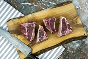 American Lamb Loin Chops - Humanely Raised, Animal Welfare Approved