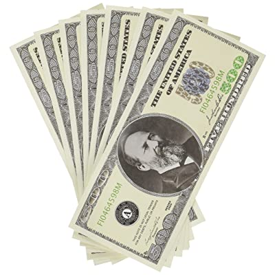 American Art Classics Set of 10 Bills-Five Hundred Dollar Bill: Toys & Games