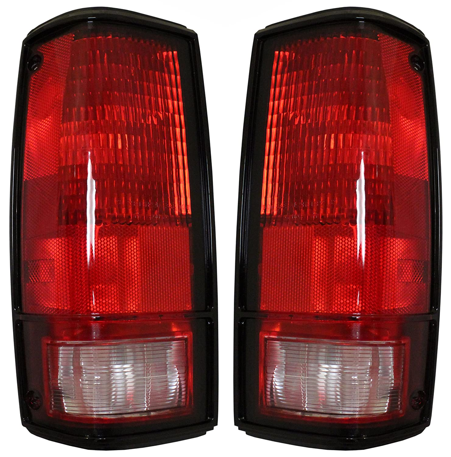 Chevrolet S10 Tail Lights - Left & Right Rear / back Tail Lamps W/o Aftermarket Replacement