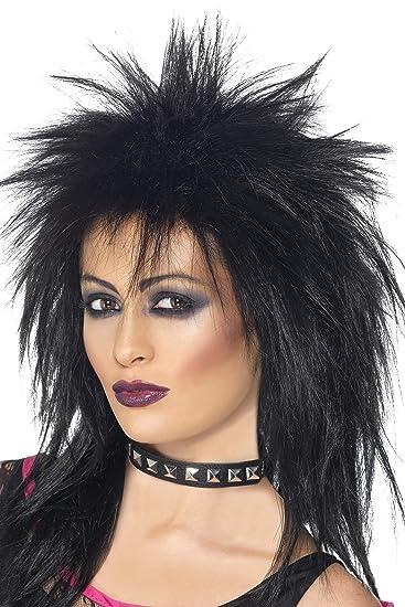 Amazon.com  Smiffys Women s Long Black Mullet Wig c93314bd0