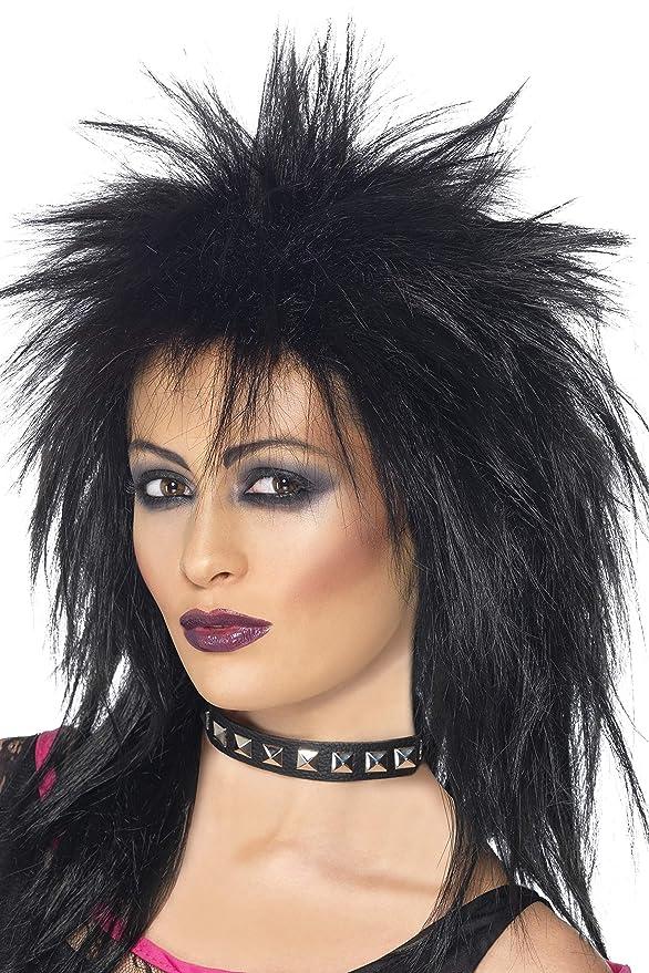 Tina 80er Rockstar Party Perücke 80ies Rockerperücke