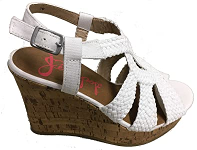 38fc9d94749d4 Jellypop Fraisia Womens Wedge Sandals