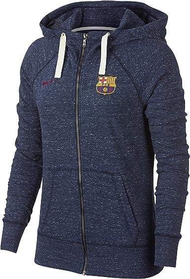 Nike FC Barcelona Gym Vintage con Capucha y Cremallera Completa ...