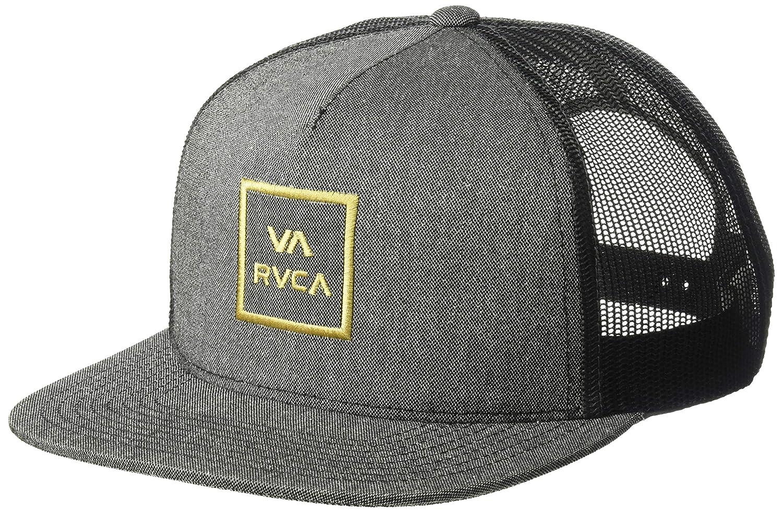 3c4b3653344 ... australia amazon rvca mens va all the way mesh back trucker hat dark  charcoal heather one