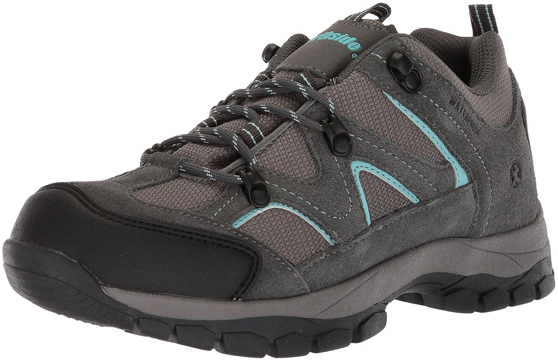 Northside Women's Snohomish Low Waterproof Hiking Shoe B0735GSWHS Size 9 M US|Gray/Aqua