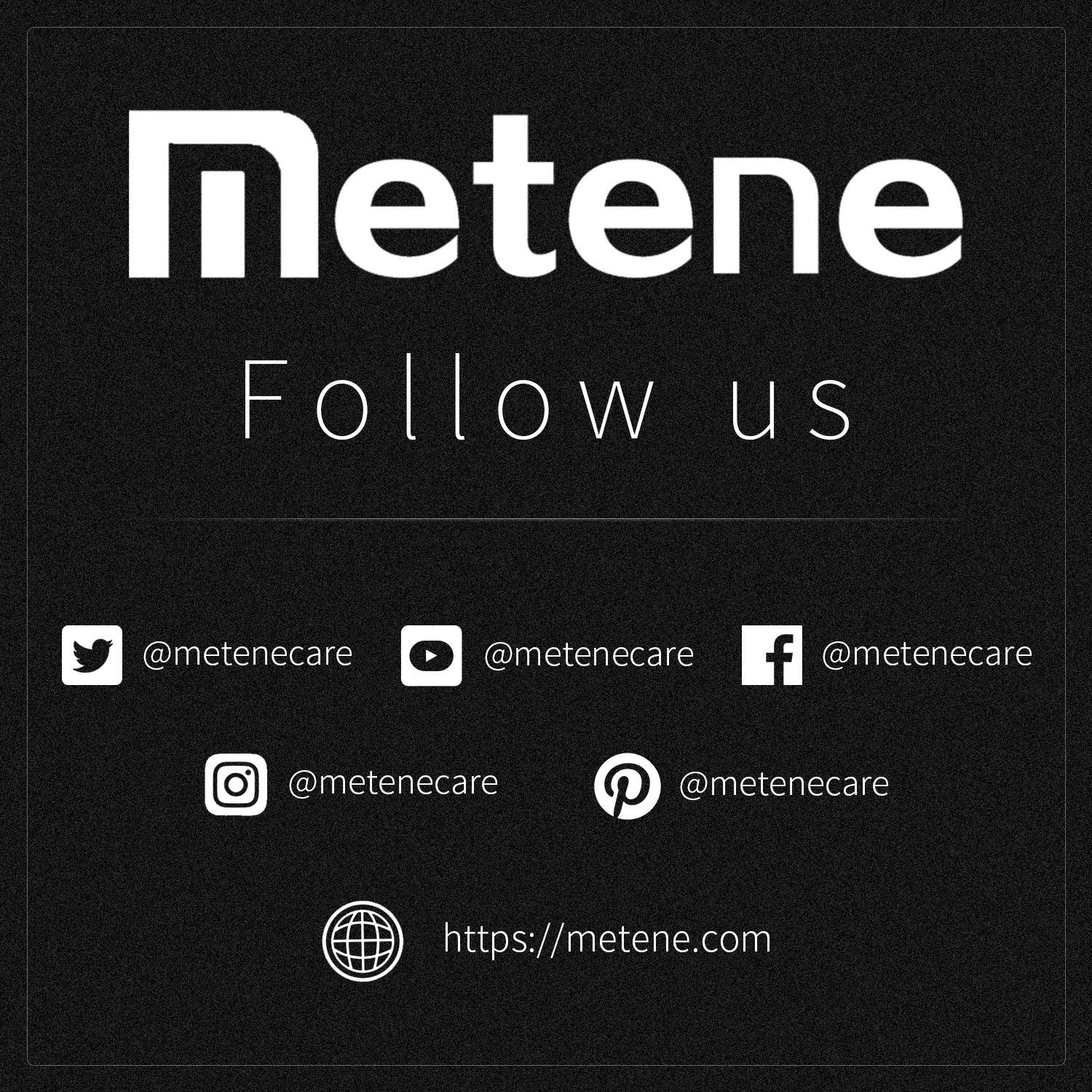 Metene Digital Forehead and Ear Thermometer,Medical Infrared Thermometer for Baby, Toddler and Adults Quickly and Accurate