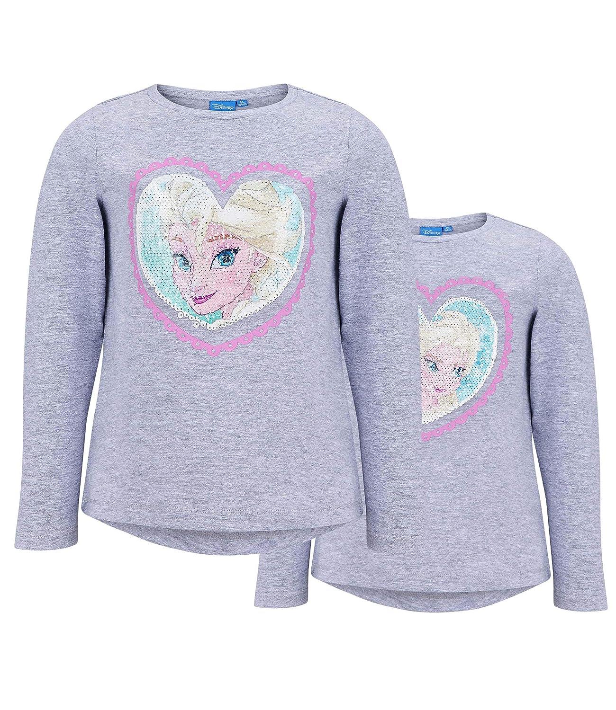 Disney Frozen - Il regno di ghiaccio Maglietta Maniche Lunghe Ragazze