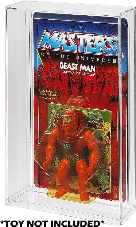 Details about  /x 1 Plastic Marvel display case Toy Biz Carded Moc Retro Action Figure Super
