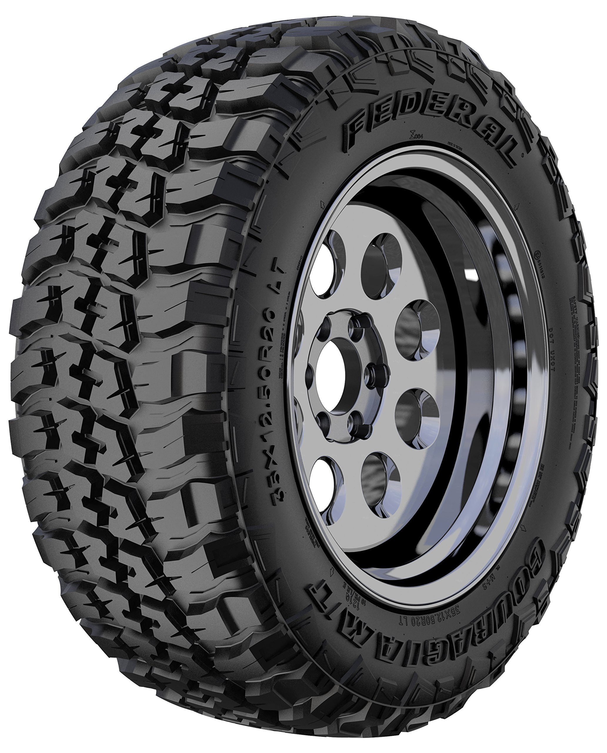 Federal Couragia M/T Mud-Terrain Radial Tire - LT265/75R16 120Q