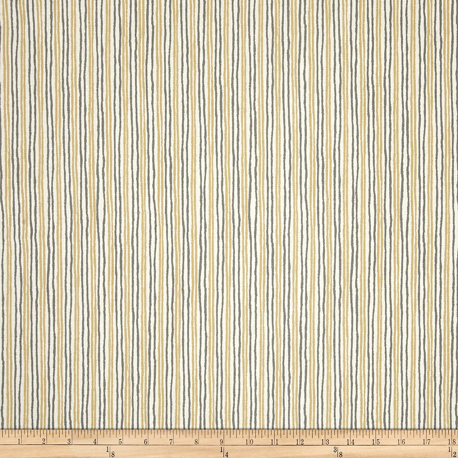 Magnolia Home Fashions Sullivan Stripe, Yard, Charcoal