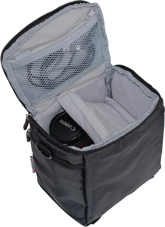 Navitech schwarz Camcorder//Kamera//Schultertasche//Tasche f/ür ORDRO HDV-V7 1080P Full HD Digital Video Camera Camcorder