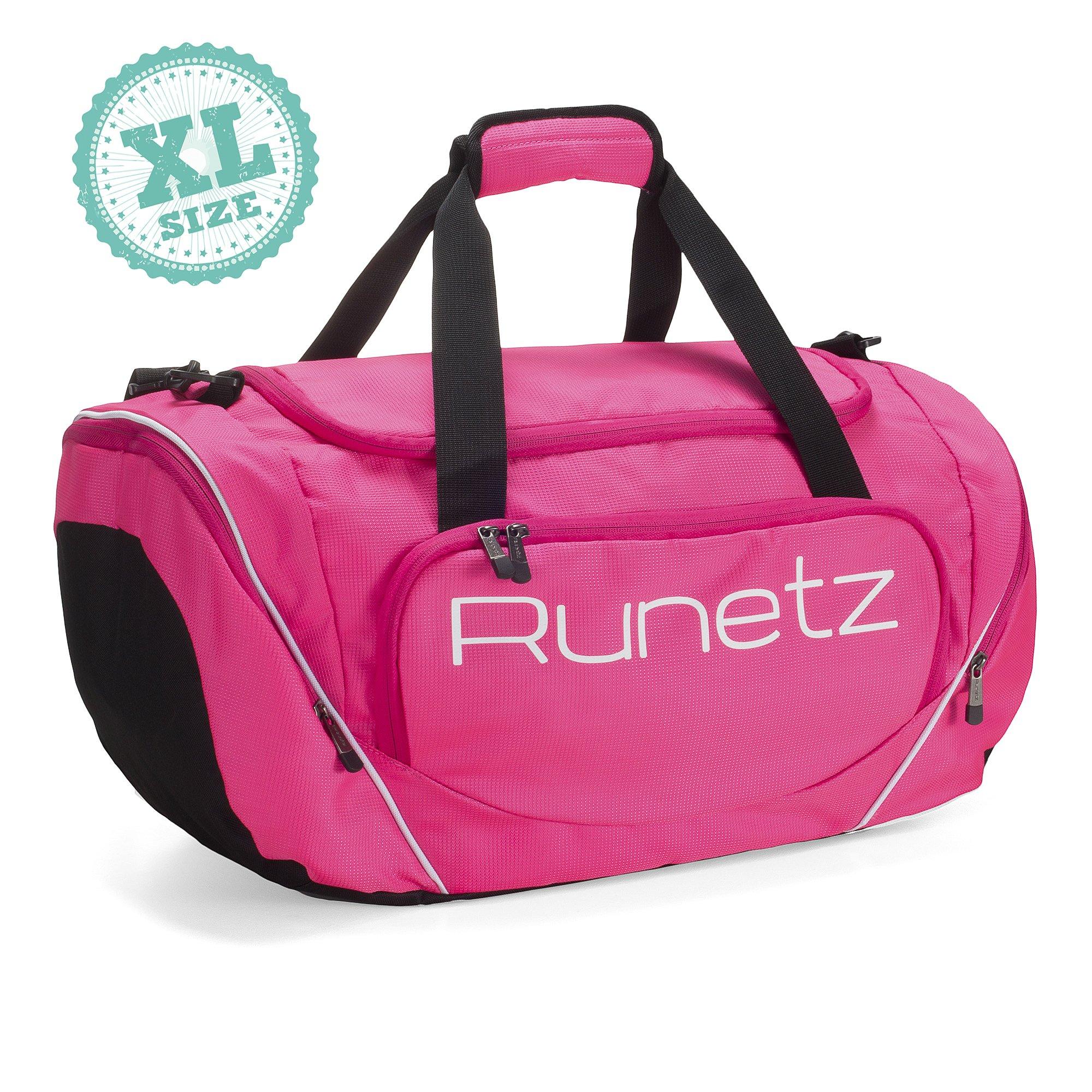 fd98f5d73337 Galleon - Runetz Gym Duffle Bag - Sports Bag For Men And Women - Ideal  Workout