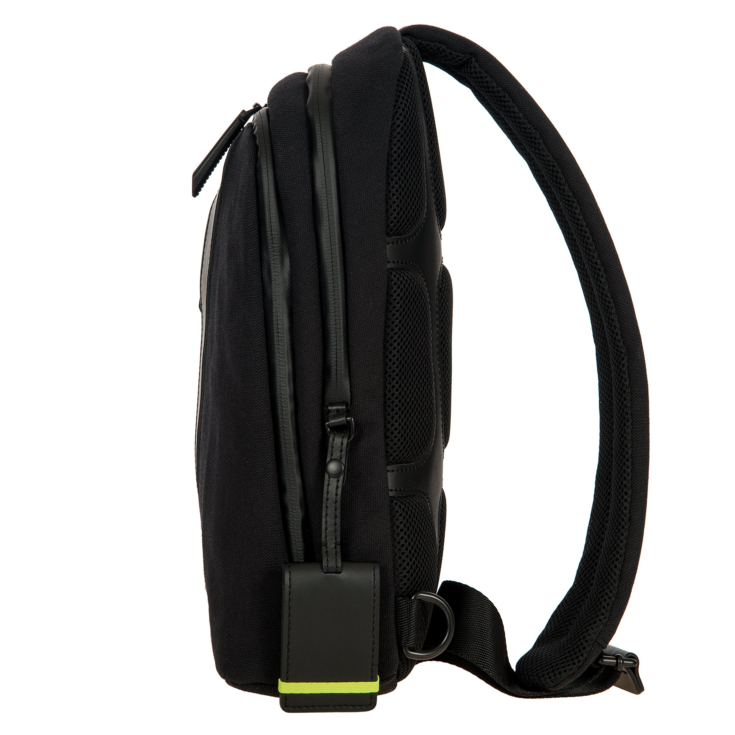 Bric's Men's Moleskine Bag Sling Backpack, Black, One Size by Bric's (Image #5)