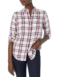 Chaps Womens Western Cotton Twill Shirt