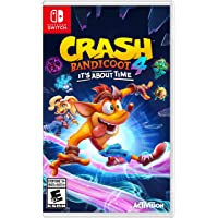 Crash Bandicoot 4 It's About Time - Nintendo Switch Games and Software