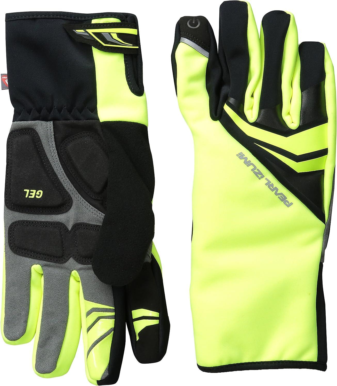 Pearl iZUMi Mens Elite Softshell Gel Gloves Black